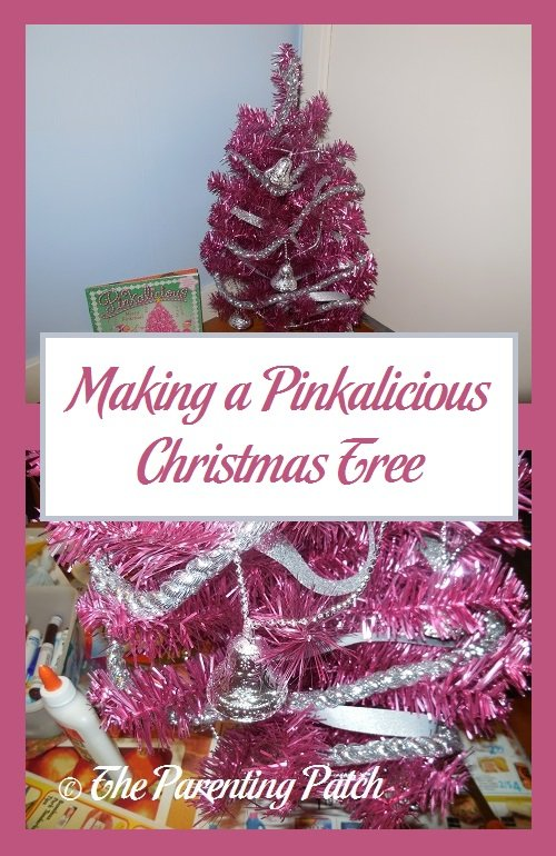 Making a Pinkalicious Christmas Tree