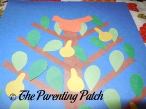 Gluing the Partridge on the Pear Tree