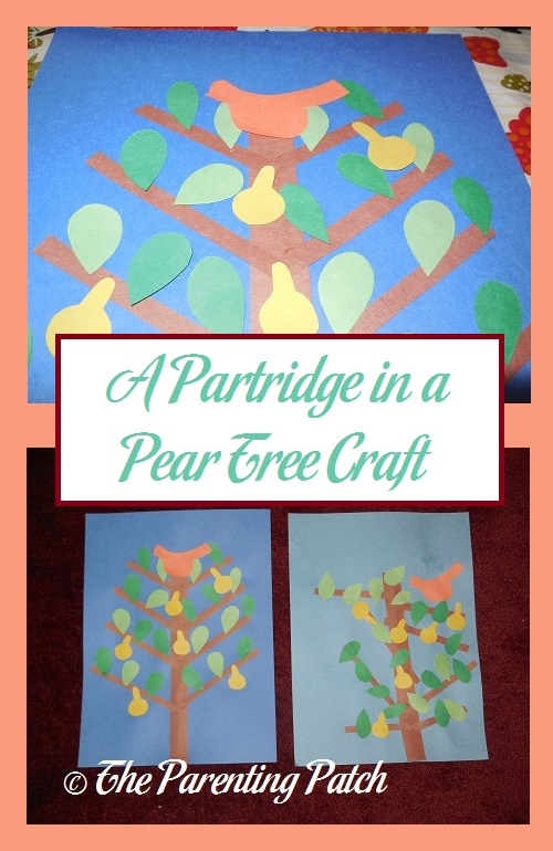 A partridge in a pear tree craft parenting patch a partridge in a pear tree craft m4hsunfo