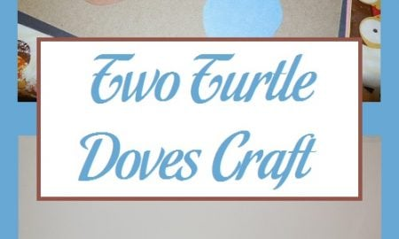 Two Turtle Doves Craft