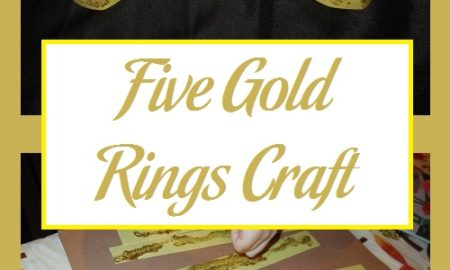 Five Gold Rings Craft