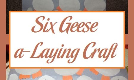 Six Geese a-Laying Craft