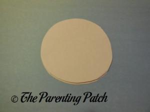 White Paper Circle