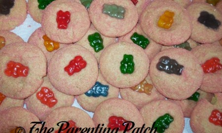 Gummy Bear Sugar Cookie Thumbprint Cookies