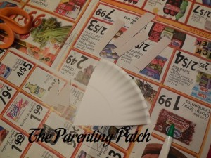 Head, Ears, and Legs for the Arctic Fox Paper Plate Craft