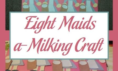 Eight Maids a-Milking Craft