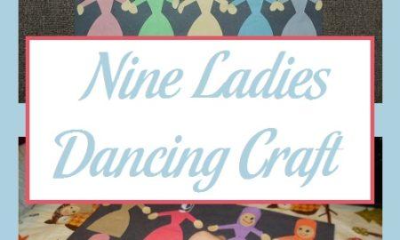 Nine Ladies Dancing Craft
