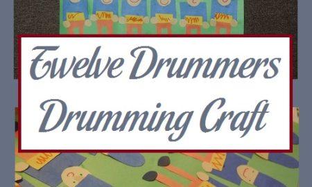 Twelve Drummers Drumming Craft