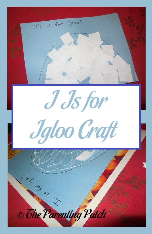 I Is for Igloo Craft