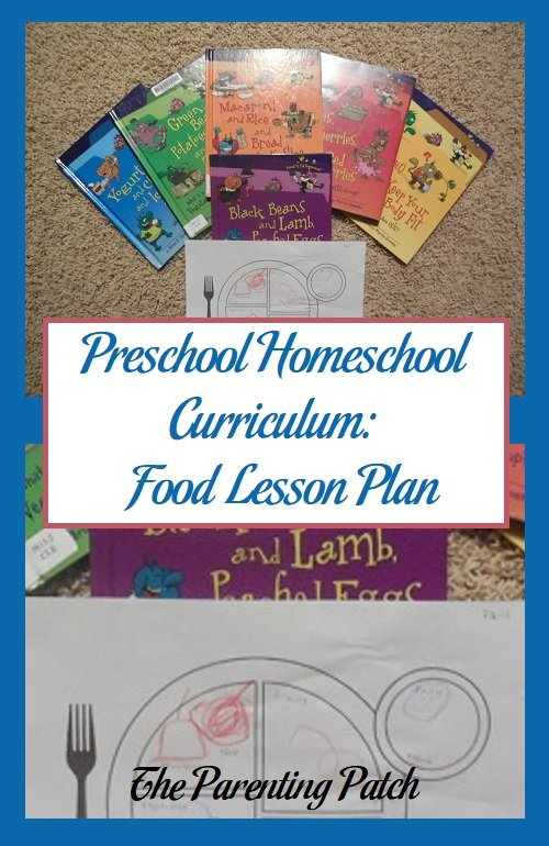 Preschool Homeschool Curriculum: Food Lesson Plan