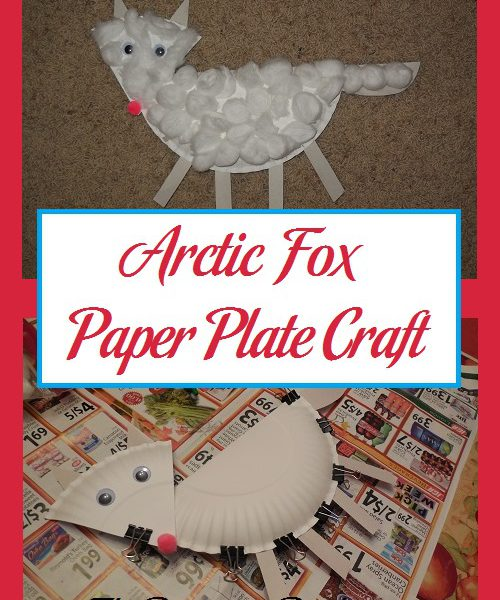 sc 1 st  The Parenting Patch & Arctic Fox Paper Plate Craft   Parenting Patch