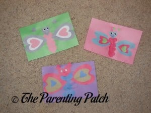 Valentine's Day Heart Butterfly Crafts
