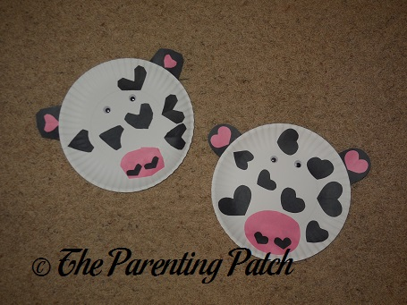 ... Valentineu0027s Day Paper Plate Cow Craft & Valentineu0027s Day Paper Plate Cow Craft | Parenting Patch