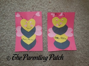 'Bee Mine' Valentine's Day Craft