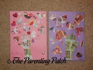 Valentine's Day 'I'm Falling for You' Handprint Tree Craft