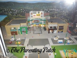 Mall in MINILAND at LEGOLAND Discovery Center Westchester