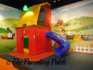 Slide in DUPLO Village at LEGOLAND Discovery Center Westchester