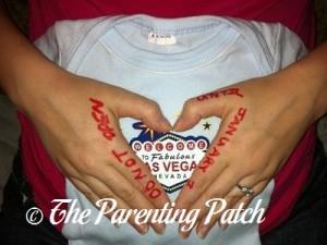 Baby Onesie Pregnancy Announcement