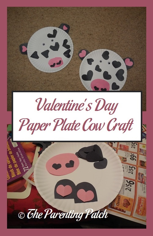 Valentineu0027s Day Paper Plate Cow Craft & Valentineu0027s Day Paper Plate Cow Craft | Parenting Patch
