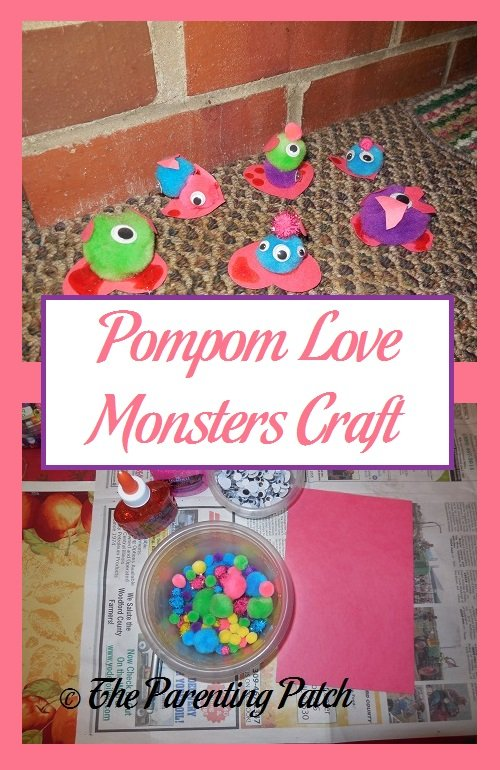 Pompom Love Monsters Craft