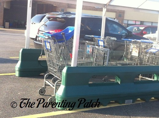 Shopping Cart With Car Seat Adapter