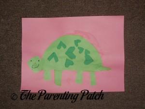 Valentine's Day Turtle Craft