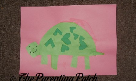 Valentine's Day Turtle Craft
