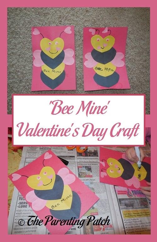 'Bee Mine' Valentine's Day Craft