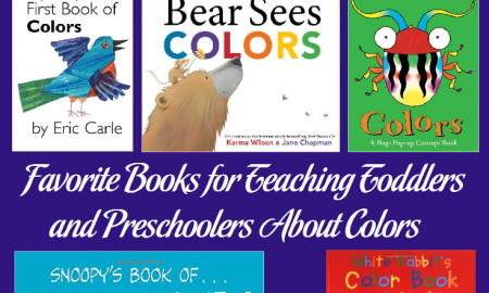 Favorite Books for Teaching Toddlers and Preschoolers About Colors