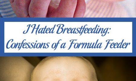 I Hated Breastfeeding: Confessions of a Formula Feeder