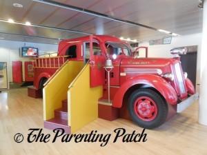 Ladder 11 at Staten Island Children's Museum