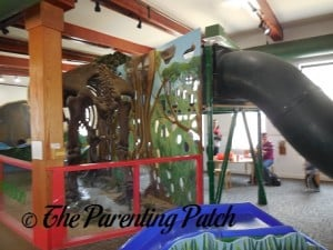 Mastodon and Slide at Mid-Hudson Children's Museum