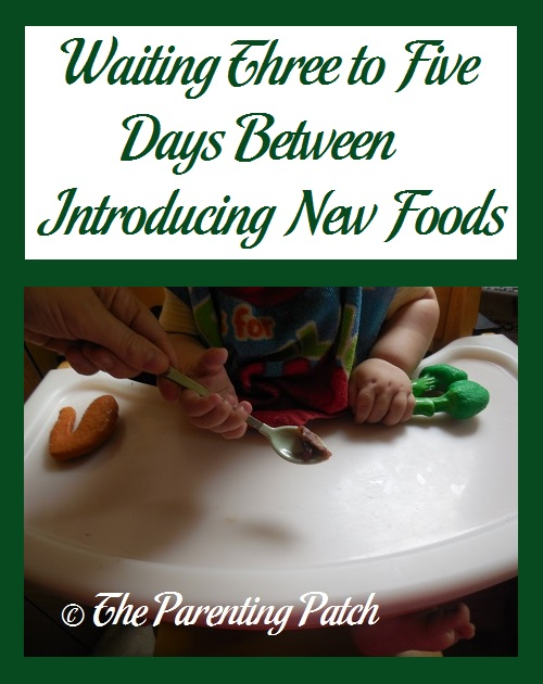 Waiting Three to Five Days Between Introducing New Foods