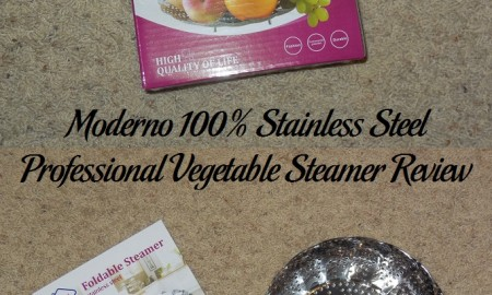 Moderno 100% Stainless Steel Professional Vegetable Steamer Review