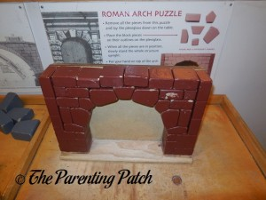 Roman Arch Puzzle at Long Island Children's Museum