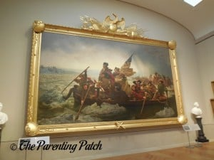 Washington Crossing the Delaware in the Metropolitan Museum of Art