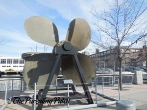 Propeller at The Intrepid Sea, Air, & Space Museum