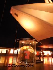 Soyuz TMA-6 Space Capsule at The Intrepid Sea, Air, & Space Museum