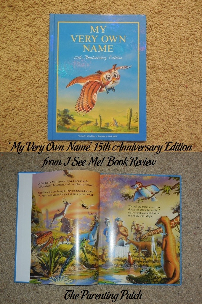 'My Very Own Name' 15th Anniversary Edition from I See Me! Book Review