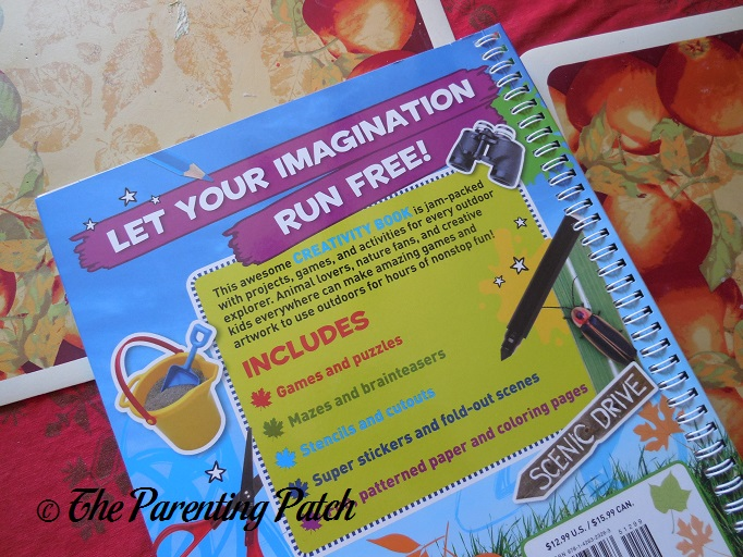 get outside creativity book national geographic kids 4
