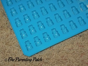 Front of On the Weekend 50-Cavity Silicone Gummy Bear and Chocolate Mold