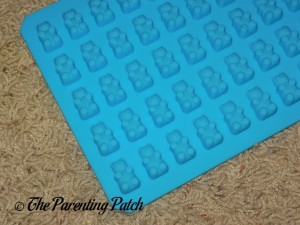 Back of On the Weekend 50-Cavity Silicone Gummy Bear and Chocolate Mold
