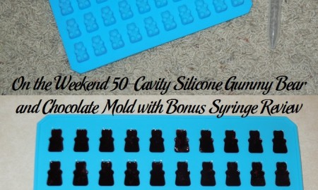 On the Weekend 50-Cavity Silicone Gummy Bear and Chocolate Mold with Bonus Syringe Review