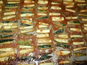 Garlic Parmesan Zucchini Fries 1