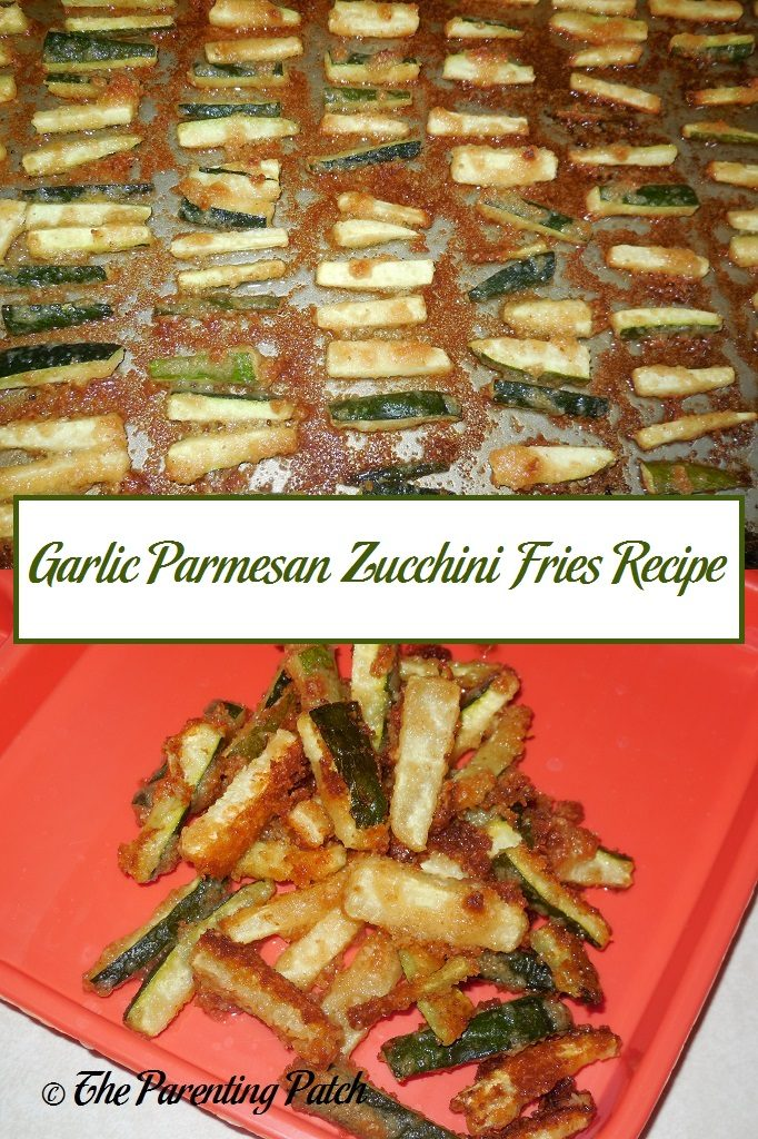 Garlic Parmesan Zucchini Fries Recipe