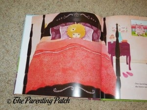 First Page of 'Princess' Personalized Book from I See Me!