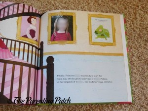 Personalized Photo in 'Princess' Personalized Book from I See Me!