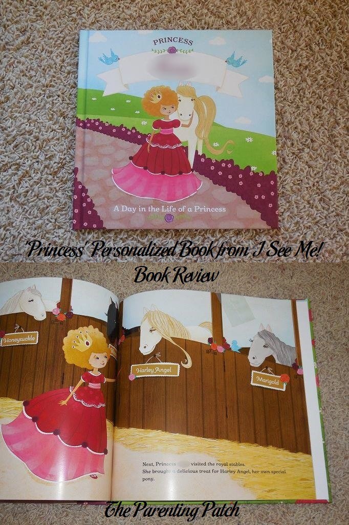 'Princess' Personalized Book from I See Me! Book Review