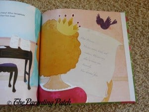 Last Page of 'Princess' Personalized Book from I See Me!