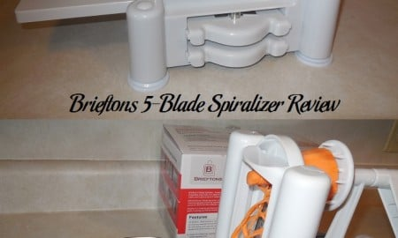 Brieftons 5-Blade Spiralizer Review